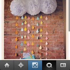 Baby shower idea. (via #instagram)