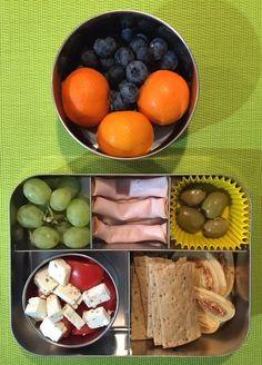 Broodtrommel RVS en RVS lunchbox van oa EcoLunchbox en A Slice Of Green Lunch Kids, Lunch To Go, Lunch Snacks, School Lunch, Lunch Box Recipes, Fabulous Foods, Kids Meals, Meal Prep, Low Carb