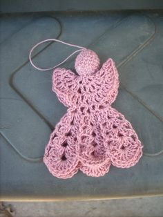 crochet angel | Crochet Angel Magnet | BarbsMacrameandMore - Crochet on ArtFire