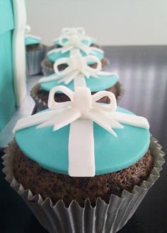Me: The only way I can afford anything from Tiffany's!  (maybe have them for breakfast?)  Original: Tiffany & Co. cupcakes