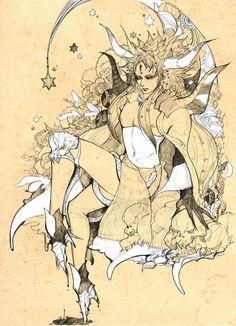 Week 2 - Final Fantasy II - Fan Art Wednesday - emperor mateus   Tumblr
