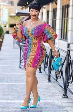 Off Shoulder Ankara Dress Designs Latest Ankara Short Gown, Ankara Short Gown Styles, Trendy Ankara Styles, Short Gowns, Ankara Gowns, Latest African Fashion Dresses, African Print Dresses, African Print Fashion, African Dress