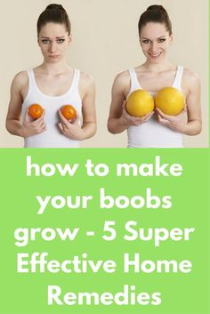 how to make your boobs grow - 5 Super Effective Home Remedies The breast size depends on various factors. Such factors include genetics (most dominant), amount of body fat, level of hormones and even exercise. While your genes and internal health factors How To Get Bigger Breats, Best Weight Loss, Weight Loss Tips, Health Remedies, Home Remedies, Enlargement Pills, Weight Loss Workout Plan, Weight Training, Weight Lifting
