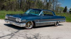 """forgeline: More """"Jet-Smooth"""" than the original? 68 Mustang Fastback, 1963 Chevy Impala, Performance Wheels, S Car, Alloy Wheel, Car Photos, Motor Car, Dream Cars, Super Cars"""