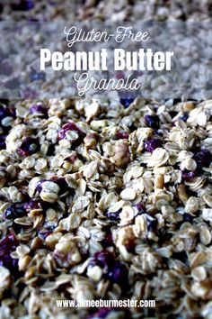This homemade gluten-free peanut butter granola recipe is the perfect budget-stretching snack you didn't know was so easy to make.