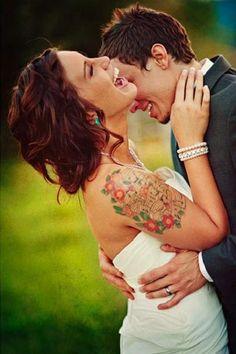 Pinterest/Resultados de la búsqueda para tattooed bride
