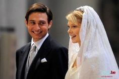 Wedding of Archduchess Marie Christine of Austria and Count Rodolphe of Limburg Stirum Dec 7, 2008