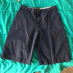 POLO NAVY SHORTS Teen/young adult size 18 POLO by Ralph Lauren shorts! Durable and great quality! WILL SHIP ASAP! Polo by Ralph Lauren Shorts
