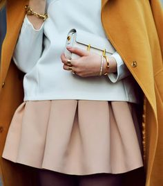 Kristina Bazan of Kayture - Natural colors that rock together with accents of gold!