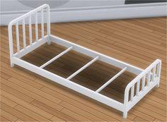 Toddler Metal Bed Frame & Mattress – Veranka S4CC