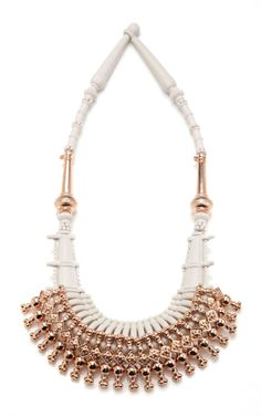 Shop Ethnic Silicone Necklace by Ek Thongprasert - Moda Operandi
