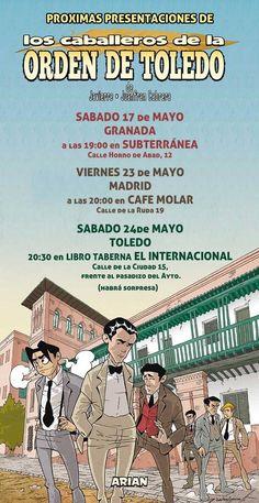 #COMIC #ILUSTRACION #HISTORIA #CROWDFUNDEADO #CROWDFUNDING En los años 20 España vive una época convulsa. En La Residencia de Estudiantes de Madrid, un oasis de cultura y libertad, coinciden tres jóvenes que llegarán a estar entre los españoles más universales del s.XX: Lorca, Buñuel y Dalí. Juntos vivirán una aventura llena de intrigas, acción y humor. http://www.verkami.com/projects/8185-los-caballeros-de-la-orden-de-toledo-1 Crowdfunding verkami