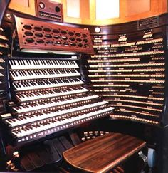 The 455-rank Midmer-Losh organ in the auditorium of the Atlantic City Convention Hall.