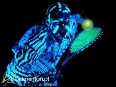 Blackminton - YouTube