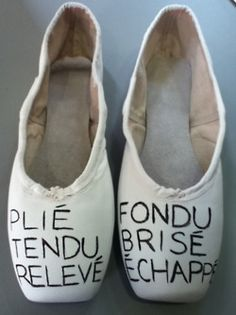 These were made by Jasmine at The Shoe Room in our decorated pointe shoes!  And I just found them on pinterest linking to some person's tumblr .... funny internet.