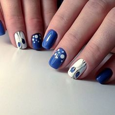 #bluenailart #nailart