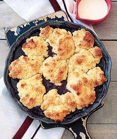 Blueberry Cobbler | Get the recipe for Blueberry Cobbler.