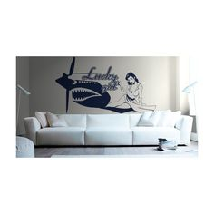 vinilo adhesivo Pin-up Lucky girl Pin Up, Sofa, Couch, Furniture, Home Decor, Settee, Settee, Decoration Home, Room Decor