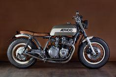 Yamaha XJ650 motorcycle customized by Ad Hoc Cafe Racers