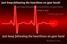 heartlines on your hand