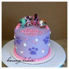 Littliest Pet Shop ( LPS ) Cake. DIY cake More