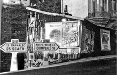 """La memoire du quartier de la gare, Pont Aven (29)... Dans cette cabane etait la forge d'Armand Niger... et, selon Gerard Berthelom, natif de ce quartier, aussi un bistrot """"clandestin""""... J'ai le souvenir de ce lieu... Voir ici, dans la rubrique """" Paul Gauguin et les autres"""" (Pinterest), la peinture de Mortimer Luddington MENPES intitulee """"The village forge"""", Pont-  Aven, 1906...  Source photographique : Gerard Berthelom..."""