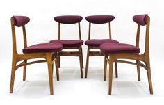 Komplet Czterech Krzeseł http://polish-design.co.uk/portfolio/komplet-czterech-krzesel-2/