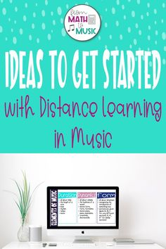 Distance Learning in Music doesn't have to be intense. Keep it simple by using read alouds, tweaking current lessons, and then creating new ones. Music Education Lessons, Online Music Lessons, Elementary Music Lessons, Elementary Schools, Music Online, Education Quotes, High School Musical Soundtrack, Music Bulletin Boards, Middle School Music