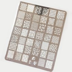 LeaLaC XL stamping plate LLC-B