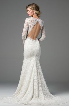 A romantic long sleeve lace fit and fla… Style Anastasia WToo bridal gown. A romantic long sleeve lace and flare bridal gown. (beaded version) Please call our stores for pricing and appointment details. Long Wedding Dresses, Long Sleeve Wedding, Wedding Gowns, Wedding Venues, Wedding Dress Sale, Online Wedding Dresses, Long Dresses, Long Sleeve Bridal Dresses, Vintage Inspired Wedding Dresses