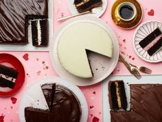 Chocolate Candy Cakes