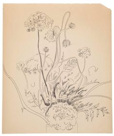 Flowers, Andy Warhol, Circa 1956 #andywarhol WarholMore Pins Like This At FOSTERGINGER @ Pinterest