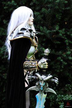 World of Warcraft Lich King Cosplay