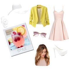 coctail  by lightbluefashion on Polyvore featuring polyvore fashion style Girls On Film Nly Shoes Nixon Forever 21 River Island