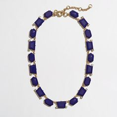 J.Crew Factory - Factory dotted shapes necklace