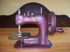 SALEVintage Children's Sewing machine by IndigoRoseVintage on Etsy, $30.00