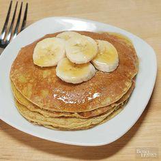 Two-Ingredient Pancakes How To Make Pancakes, Pancakes Easy, Banana Pancakes, Pancakes And Waffles, Baked Pancakes, Pumpkin Pancakes, Paleo Recipes, Gourmet Recipes, Whole Food Recipes