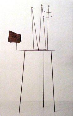 """Fausto Melotti  """"Nen""""  1961"""