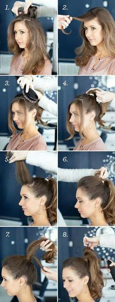 Bumped ponytail