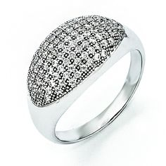 Now available on our store: Sterling Silver &... Check it out here! http://shirindiamond.net/products/sterling-silver-cz-brilliant-embers-ring-qmp943?utm_campaign=social_autopilot&utm_source=pin&utm_medium=pin