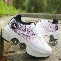 Dr Shoes, Cute Shoes, Me Too Shoes, Unique Shoes, Roller Skate Shoes, Roller Skating, Casual Sneakers, Casual Shoes, Shoes Sneakers