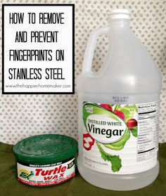 how to remove and prevent fingerprints on stainless steel
