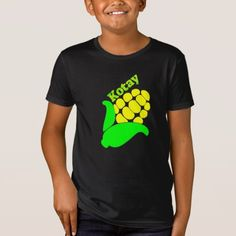 Text in Kitsai : Kotay and a yellow corn T-Shirt - simple clear clean design style unique diy Foreign Words, Yellow Corn, Simple Shirts, Fitness Models, Language, Casual, Fabric, Sleeves, Mens Tops
