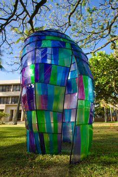Installation project by Kazuki Takizawa. University of Hawaii at Manoa. Photo by Bradley Goda.