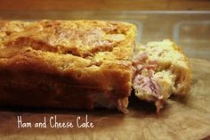 Ham and Cheese Cake (Cake au Jambon et Fromage)