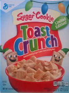 Sugar cookie toast crunch--tasted like real sugar cookies! Crunch Cereal, Granola Cereal, Kids Cereal, Cereal Boxes, Types Of Cereal, Cereal Killer, Cinnamon Toast Crunch, Custom Chocolate, Breakfast Cereal
