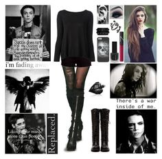 """""""✖ Important Read D! ✖ You're not alone, we'll brave this storm. Let's face today, you're not alone ✖"""" by blueknight ❤ liked on Polyvore featuring rag & bone, RED Valentino, Kendra Scott, Diesel, NARS Cosmetics, Topshop, Valentino, women's clothing, women and female"""