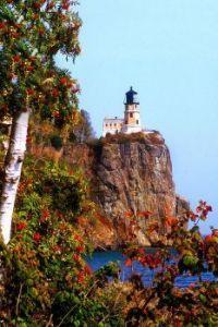 Splitrock Light house and Mountain Ash