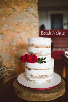 Betah Nahuz - Os Bolos da Betah : Semi Naked Cake, a super tendência 2016!