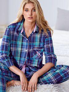 Victoria's Secret The Dreamer Flannel Pajama Set Brand new Victoria's Secret Intimates & Sleepwear Pajamas Cute Pajamas, Flannel Pajamas, Silk Pajamas, Pyjamas, Victoria's Secret, Pajama Pattern, Victoria Secret Pajamas, Lingerie Sleepwear, Nightwear